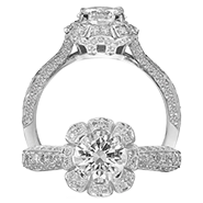 Ritani Bella Vita Engagement Ring Setting –  1R2540BR-$1000 GIFT CARD INCLUDED WITH PURCHASE. Ritani Engagement Ring Setting 1R2540BR-$1000 GIFT CARD INCLUDED WITH PURCHASE, Engagement Rings. Ritani. Hung Phat Diamonds & Jewelry