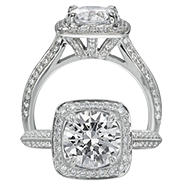 Ritani Bella Vita Engagement Ring Setting – 1R3153CR-$700 GIFT CARD INCLUDED WITH PURCHASE. Ritani Engagement Ring Setting 1R3153CR-$700 GIFT CARD INCLUDED WITH PURCHASE, Engagement Rings. Ritani. Hung Phat Diamonds & Jewelry