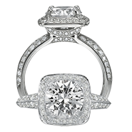 Ritani Bella Vita Engagement Ring Setting – 1R3157GR-$700 GIFT CARD INCLUDED WITH PURCHASE. Ritani Engagement Ring Setting 1R3157GR-$700 GIFT CARD INCLUDED WITH PURCHASE, Engagement Rings. Ritani. Hung Phat Diamonds & Jewelry