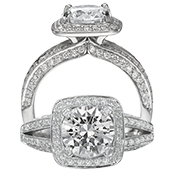 Ritani Bella Vita Engagement Ring Setting – 1R3158GR-$1000 GIFT CARD INCLUDED WITH PURCHASE. Ritani Engagement Ring Setting 1R3158GR-$1000 GIFT CARD INCLUDED WITH PURCHASE, Engagement Rings. Ritani. Hung Phat Diamonds & Jewelry