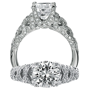 Ritani Bella Vita Engagement Ring Setting – 1R3165-$1000 GIFT CARD INCLUDED WITH PURCHASE. Ritani Engagement Ring Setting 1R3165-$1000 GIFT CARD INCLUDED WITH PURCHASE, Engagement Rings. Ritani. Hung Phat Diamonds & Jewelry